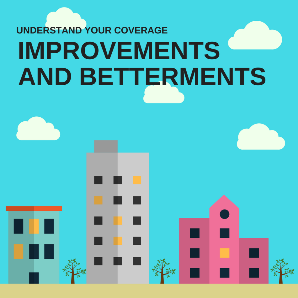 IMPROVEMENTS AND BETTERMENTS