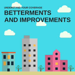 Betterments and Improvements
