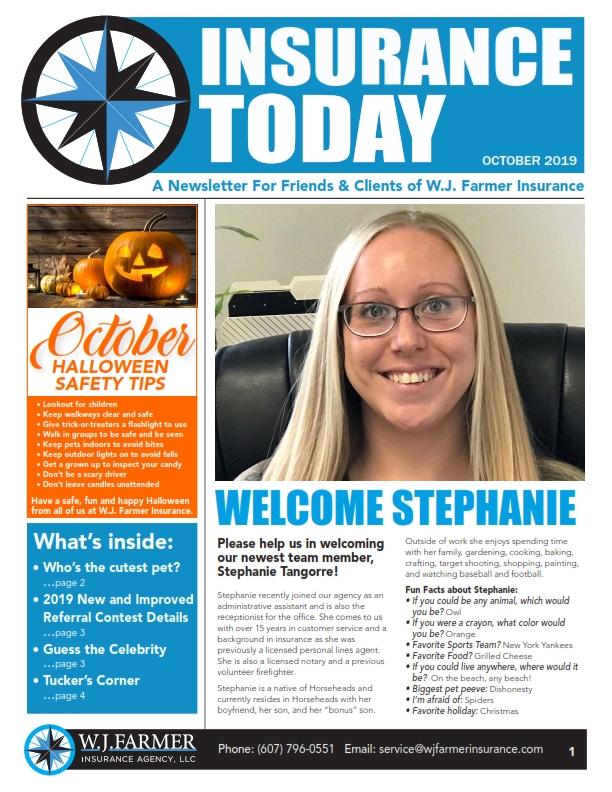 October Newsletter Insurance Today_001